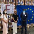 Ponte aérea humanitária da União Europeia organizada por Portugal com destino a Bissau